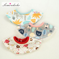 Lemonkoko Baby Bibs 100 Cotton Boys Bandana Bibs Girls Cartoon Burp Cloths Lovely Cute Bib