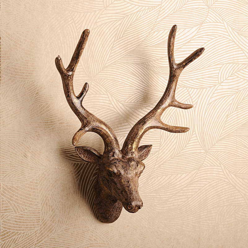 Deer Head Wall Decor