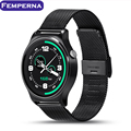 Femperna GW01 Smart Watch Bluetooth 4.0 IPS Полный Раунд Smartwatch Для apple Samsung Gear S2 IOS Android телефон pk k88h gt08 dz09