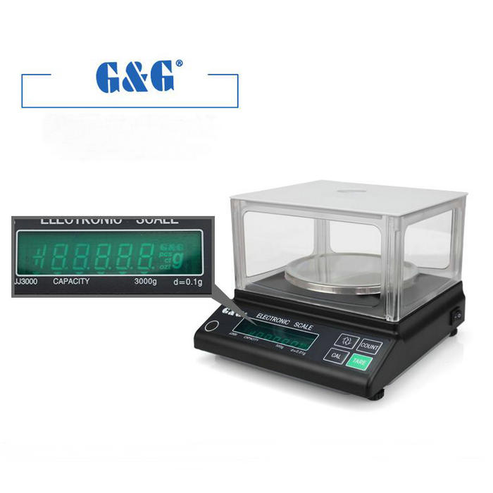 купить JJ series 6000g 0.1g Digital Precision electronic scale, analytical balance, Accurate weighing scale for Lab teaching по цене 14250.92 рублей