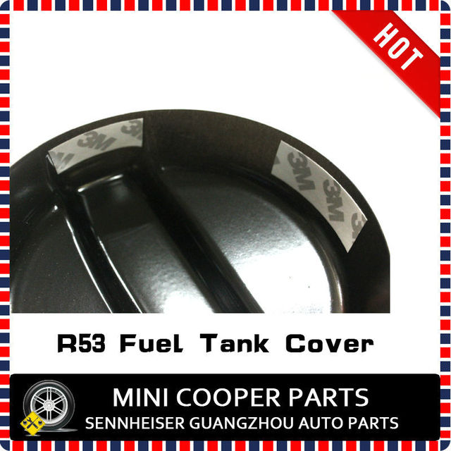 Brand New ABS Plastic UV Protected Mini Ray Style Black Color Fuel Tank Cover For mini cooper R53 S Only (1 Pcs/Set)