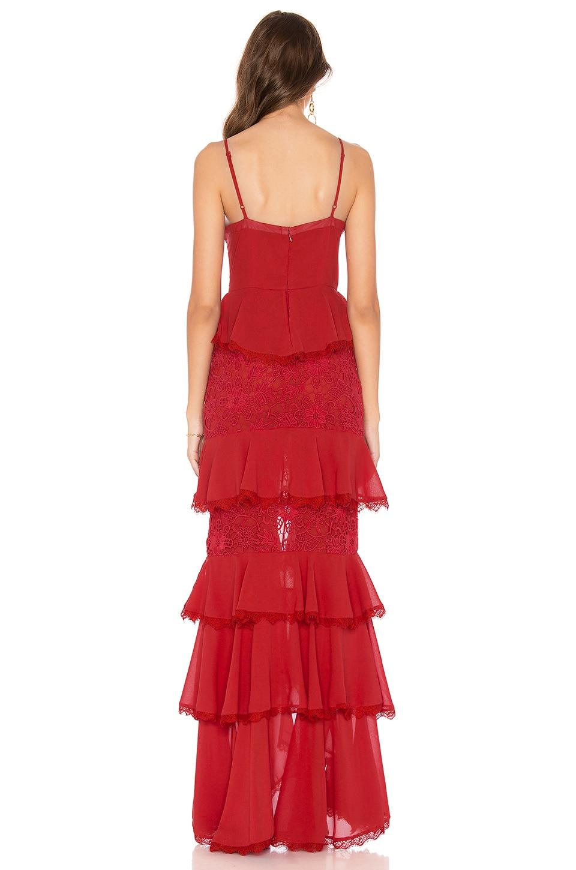 De Élégant Mode Robe Bandage Moulante Rouge Robes Night Sangle Soirée Club Célébrité Femmes Sexy Partie Longues 440pwSrq