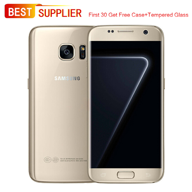 US $176 14 18% OFF|Samsung Galaxy S7 4G LTE Smartphone,  G930F/G930V/G930P/G930T/G930A, 32GB ROM, 4GB RAM, Looks Like New, 1 Year  Warranty-in Mobile