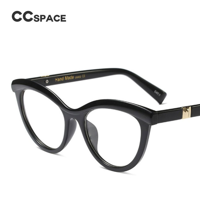 45490 Ladies Eyebrows Square Glasses Frames Women Brand Designer Optical EyeGlasses Fashion Eyewear Computer Glasses 3