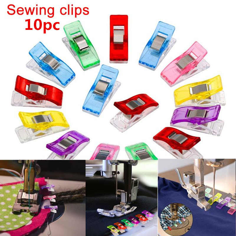10PCS sewing accessories High Quality And Inexpensive 2.7*1*1.5cm Clover wonder clipools patchw tork 5BB5445