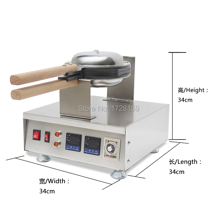 New design electric egg waffle maker, non stick aberdeen egg maker,egg puff machine for sale directly factory price commercial electric double head egg waffle maker for round waffle and rectangle waffle