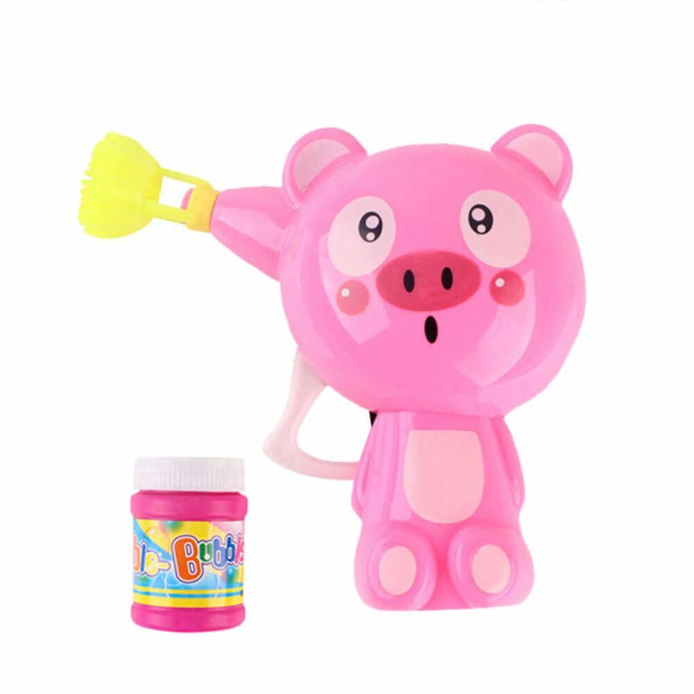 Мыло машина с пузырями пистолет для мыльных пузырей детские развивающие игрушки весело мультфильм животных выдувальщик пузырьков игрушка пузырь машина D300304