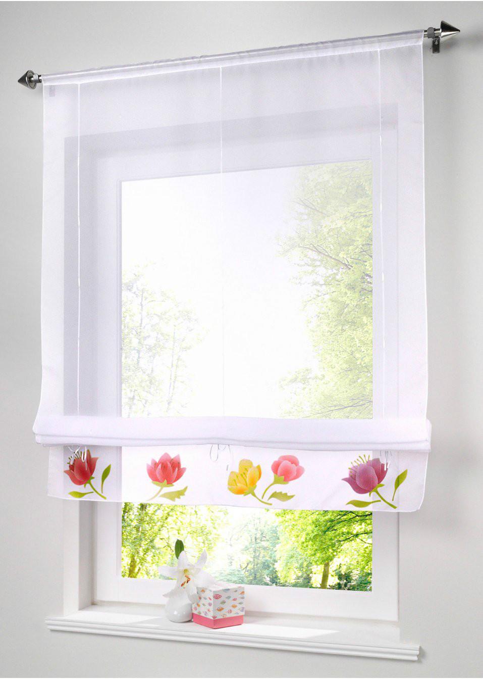 tende rustiche romane tende della cucina caff screening finestra tenda per finestra bianco tulle sheer per