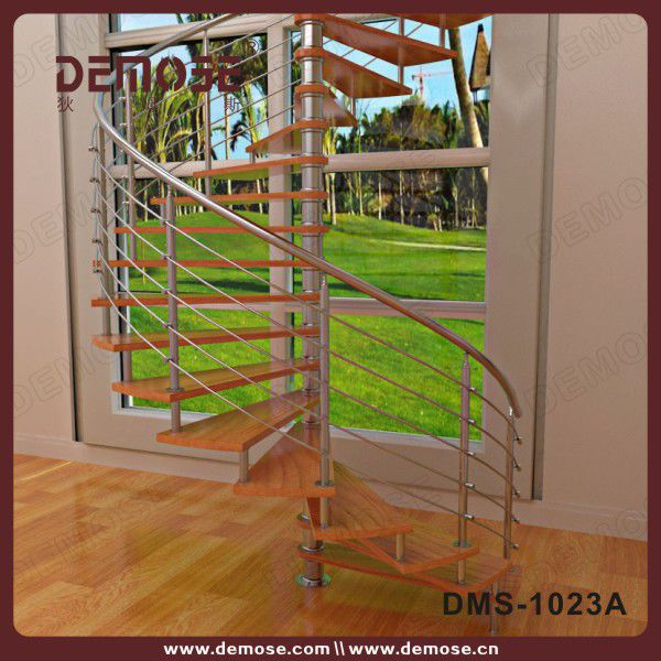 Prefabricated Spiral Stairs Metal Outdoor