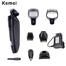 5 in 1 Rechargeable Cordless Hair Clipper Nose Hair Trimmer for Men Precision Electric Shaver Beard Trimmer with Turbo Button