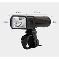 Waterproof USB Rechargeable 2000 Lumens Led Flashlight Cree XML T6 Led Bike Light Portable Tactical Torch With 18650 Battery