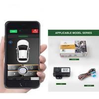 12V Nieuwe Smartphone Met Trunk Release Knop Auto Auto Centrale Kit Deurvergrendeling Locking Vehicle Keyless Entry Systeem