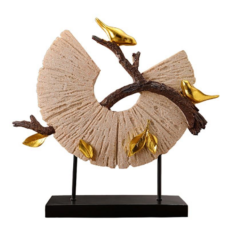 2019 tout nouveau haut de gamme porche ornement ornements oiseau mascotte Figurines décoration de la maison accessoires moderne résine artisanat décor à la maison
