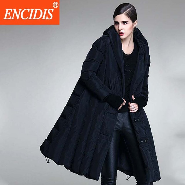 Europa América Estilo WomenX-Longo Para Baixo Casaco Jaqueta de Inverno 2016 Novas Mulheres jaqueta de Inverno Casacos de Inverno Com Capuz Plus Size Parka M345
