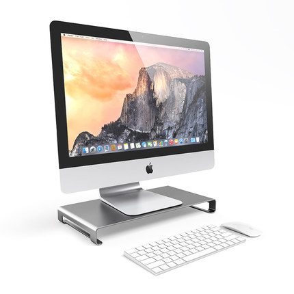 For Apple macbook desktop monitor base notebook stand bracket computer elevated frame storage frame artifact