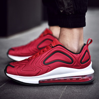 Hot Popular Air Running Shoes Men Super 720 Max Jogging Sneakers Cushioning Handsome Breathable Male Big Size Red Sport Shoe New