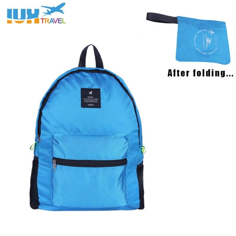 2017 Foldable Travel Bags Waterproof Women Men Unisex Leisure BagsRucksack Travel Backpacks Men and Women Bag