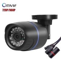 IP Camera 1280 720P 1 0MP Bullet 24pcs IR Cut Megapixel Lens Outdoor Security ONVIF Waterproof