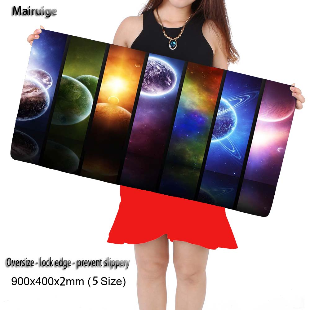 Mairuige Planetas Keyboards Mats Pattern Big Mouse Pad Mat for League of Legendsouse Pad Keyboard Mat Table Mat for Dota 2 CS Go