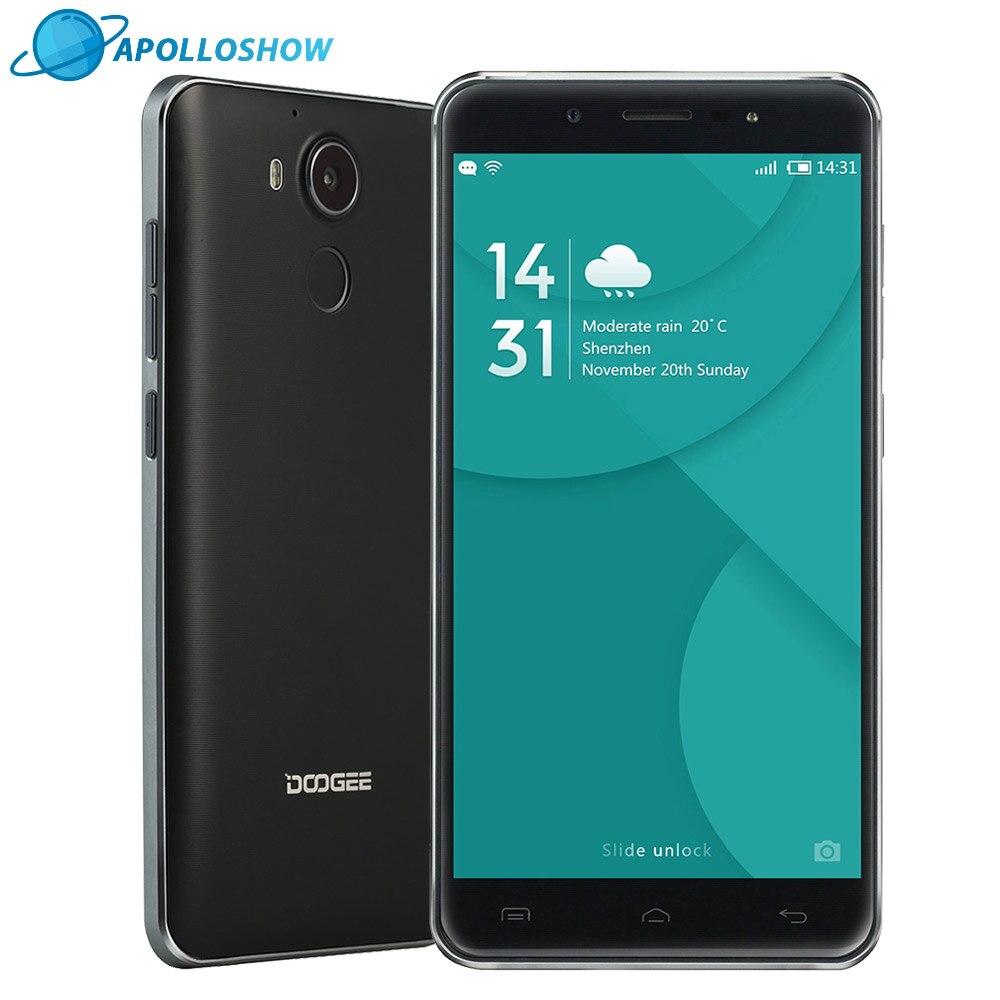 Original Doogee F7 Smartphone 5 5Inch FHD 3GB RAM 32GB ROM Android6 0 DualSIM MTK6797 Deca