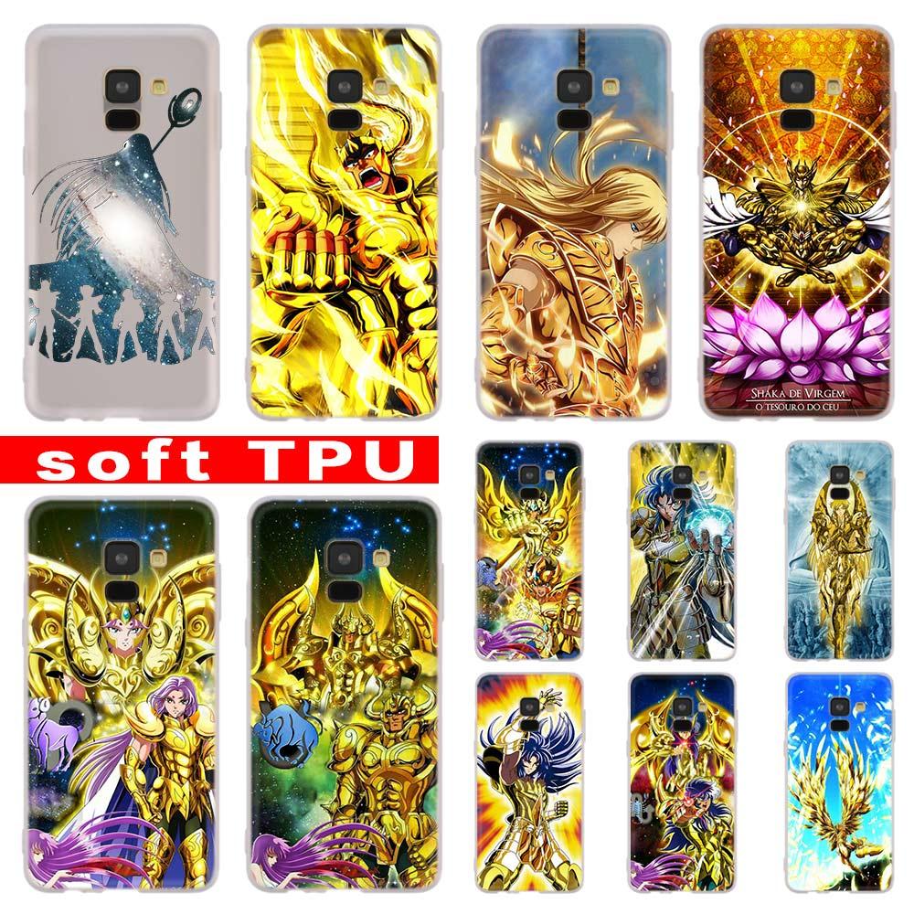 Saint Seiya For Samsung Galaxy A10/A30/A40/A50/A70 A9 A8 A6 A7 2018  A3 A5 2017 2016 TPU Case Cover Soft