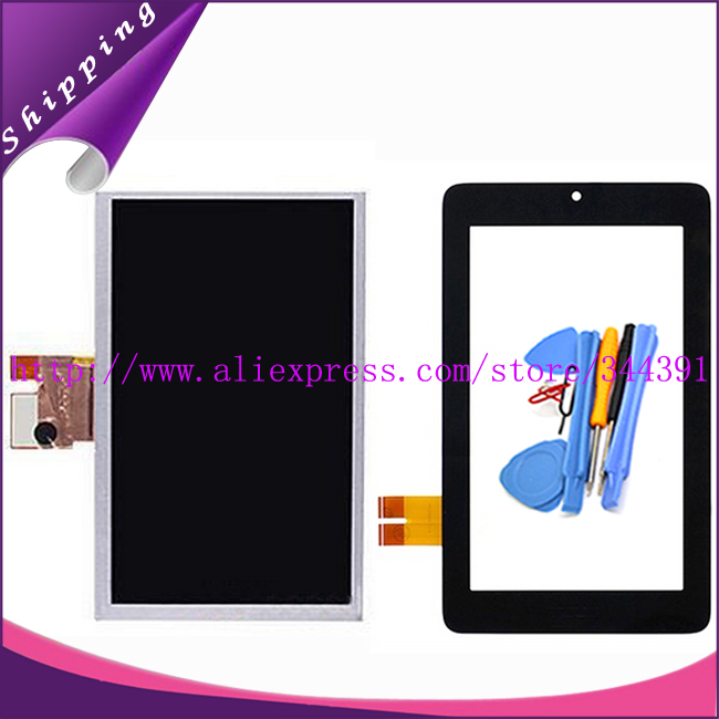 ME172 LCD For Asus MeMo Pad ME172V ME172 LCD With Digitizer Touch Screen Display Tools tracking