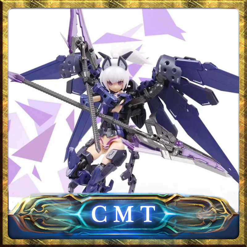 CMT Pretty Armor Ver 2 Ms Girl falcon Plastic model kit Anime Toys Figure tolove darkness adult pretty girl model anime girl model beauty model tableware animation hand model toys