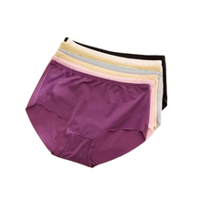 Summer Ultra Thin Seamless Panties for Girls Traceless Underwear Women Briefs Intimates Clothing Ladies Ice Silk Briefs
