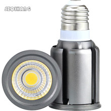 цена на Super Bright Dimmable GU10 E27 COB 9W LED Bulb Lamp AC110V 220V spotlight Warm White/Cold White led light