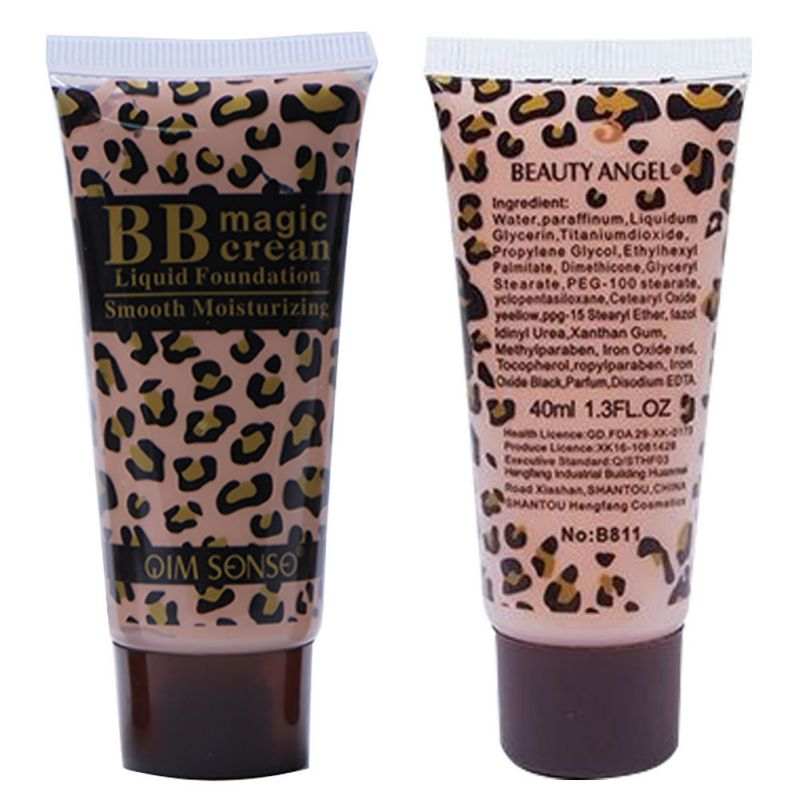 New Beauty Womens Moisturing BB Cream Natural Cover Whitening Anti Wrinkle Makeup Maquillage WD2