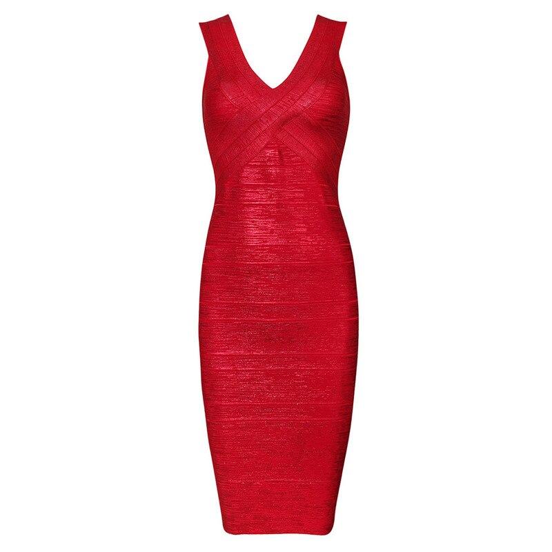 Fasciatura Partito rosso Stampa Delle Dalla Metallizzato Vestito verde Oro multi Rosso 2017 Aderente Lunghezza Donne Club Del Sexy Ginocchio qR6vwRTx