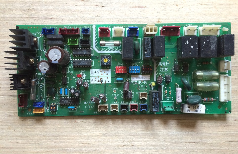 ФОТО G7B00521C PI016-5 Air Conditioning Board Tested
