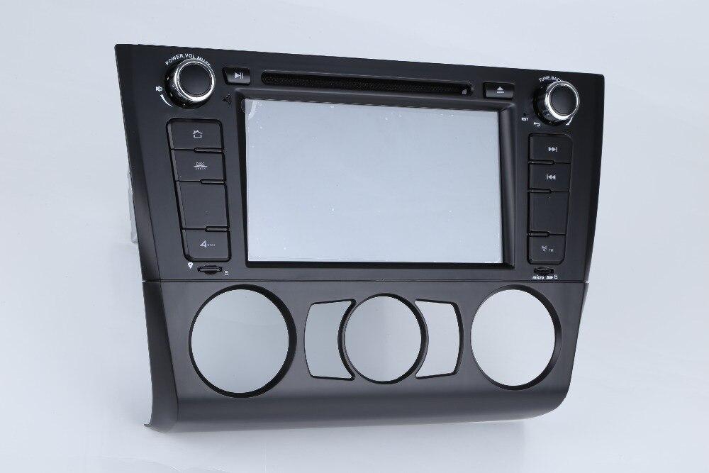 Sortie d'usine octa core android 8.0 lecteur dvd de voiture pour BMW série 1 E81 E82 I20 navigation de vente populaire avec TDA7851 IC