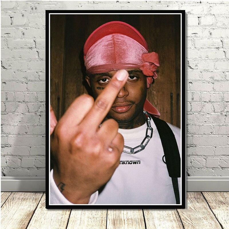 N-68 Ski Mask Poster The Slump XXXTentacion God Hip Hop Rap Wall Decor