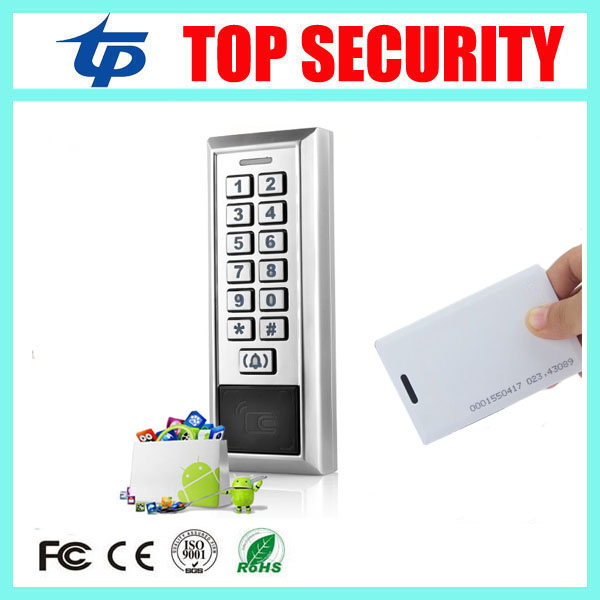 IP65 waterproof RFID card reader access control panel 8000 users single door 125KHZ ID EM card access controller +10pcs ID card good quality smart rfid card door access control reader touch waterproof keypad 125khz id card single door access controller