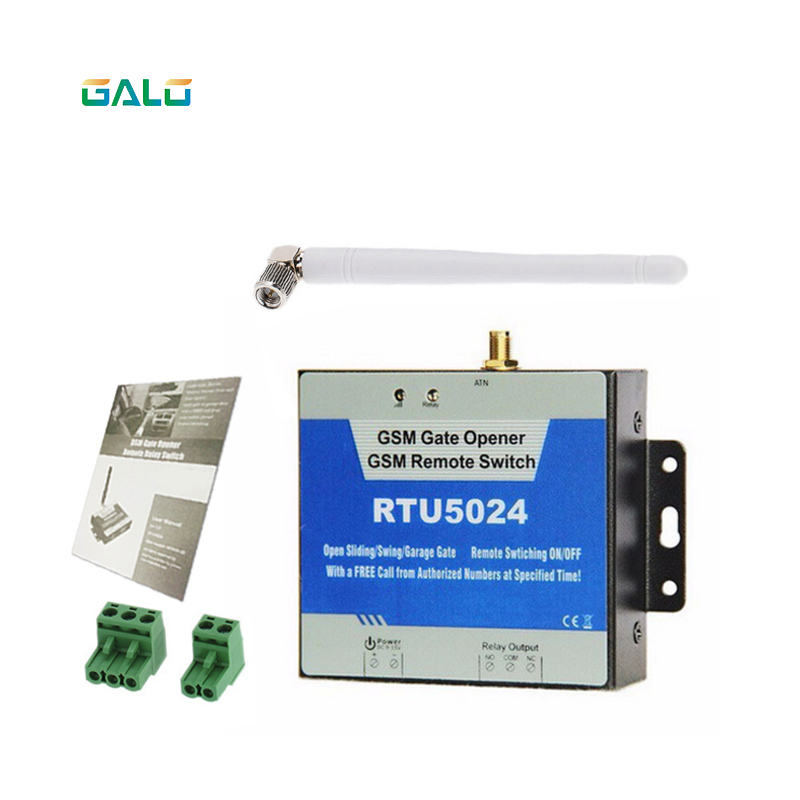 GSM Gate Opener Relay Switch Remote On/Off Switch Access Control Free Call SMS 850/900/1800MHz RTU5024 y 3m antenna OptionalGSM Gate Opener Relay Switch Remote On/Off Switch Access Control Free Call SMS 850/900/1800MHz RTU5024 y 3m antenna Optional
