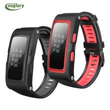 Vaglory T28 IP67 Sport Tracker Good Band Stress Temp GPS Coronary heart Charge Monitor Exercise Tracker Health Bracelet Good Wristband