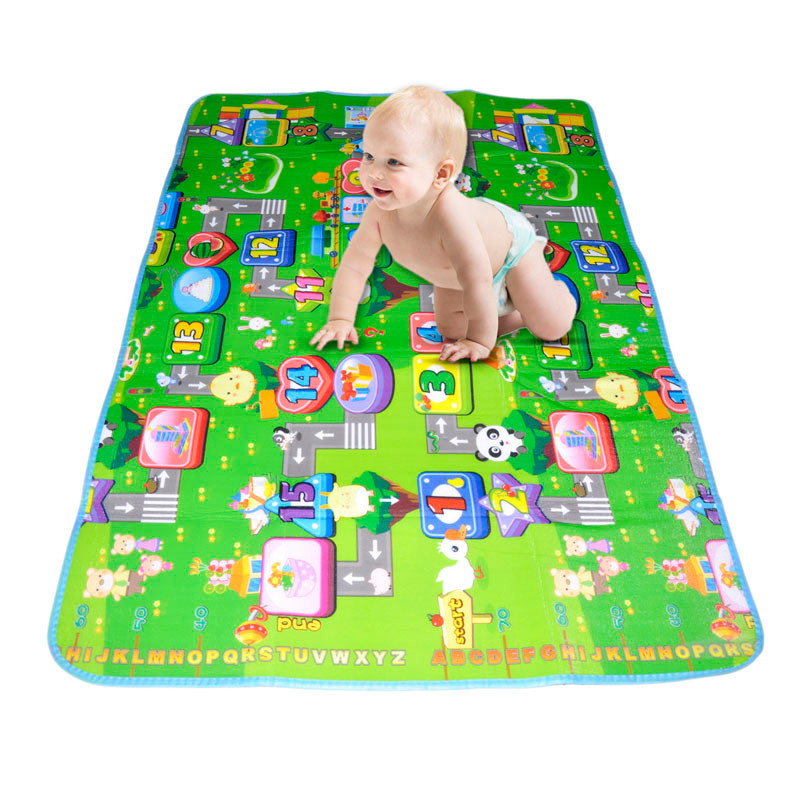 Funny Activity children puzzle mat baby for kids room carpet rug blanket learning educational toys for boys girls gifts 3