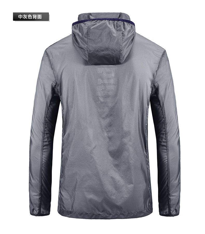 com capuz jaquetas de seda gelo à prova dwaterproof água