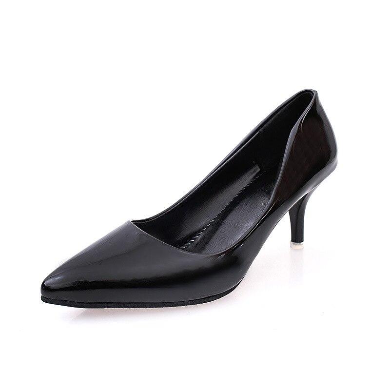 argent Chaussures Noir rouge Pointu Zapatos Pompes kaki Motif 2018 Robe Verni Haute Cuir blanc Super Argent Bateau Bout De Femmes Talons Mariage En Mujer qZt1H