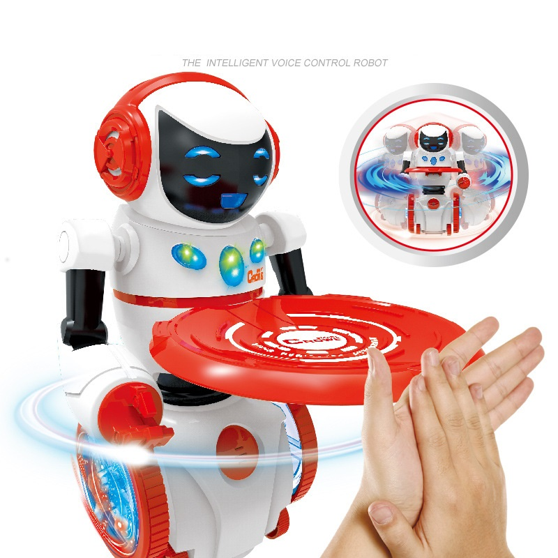Intelligent robot RC Robot Remote Voice Control Music Light Electronic Toy Robots Walk Musical Children Boy Gift rc robot remote control electronic robots walk electric children boys gift