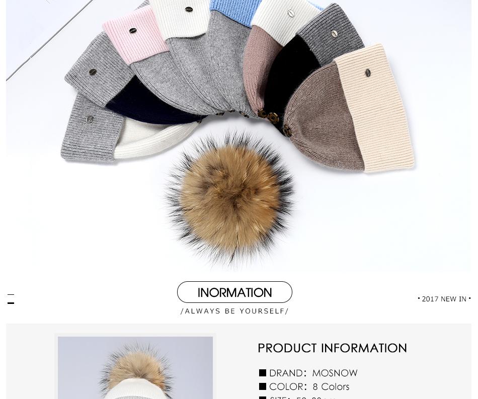Winter Hat For Women MZ744 (2)