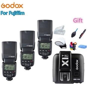 Godox TT600 Camera Flash Speedlite 2.4G Wireless Master Slave X1T-F TTL HSS for Fujifilm x-t20 x-t2 x100f xt2 x-t10 fuji x-t2 x