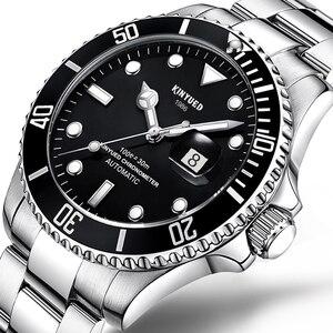 Image 2 - KINYUED แบรนด์ผู้ชายนาฬิกาอัตโนมัติบทบาทวันที่ Fashione luxury Submariner นาฬิกา Reloj Hombre Relogio Masculino