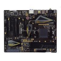 Para ASRock 990FX Extreme9 Original usado escritorio para AMD 990FX placa base zócalo AM3 AM3 + DDR3 SATA3 USB3.0|Placas base|   -