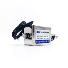 TAU0826B 20N doğrusal elektrik mıknatısı çerçeve solenoid elektromıknatıs çekme itme inme 10mm DC 6 V 12 V 24 V