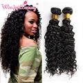Brazilian Hair Vendors Queen Beauty Weave Deep Curly Virgin Hair Style 3bundles Mink Brazilian Hair Kinky Curly Weave Human Hair