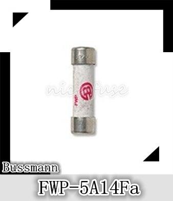 Fusível cilíndrico bussmann dos eua FWP-5A14Fa 700 v/5a 14*51mm
