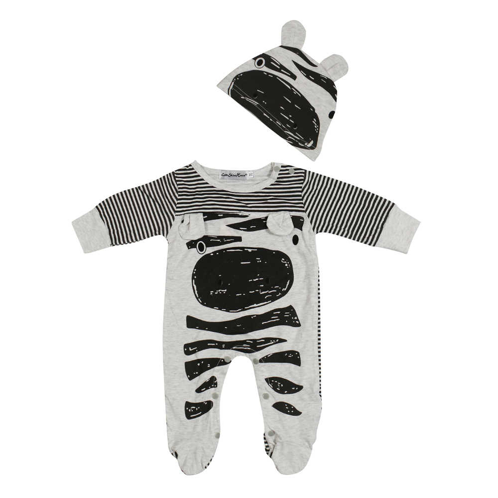 51bb17ee81791 ... 2019 hot Baby rompers long sleeve cotton jumpsuit baby infant cartoon  Animal newborn baby clothes romper