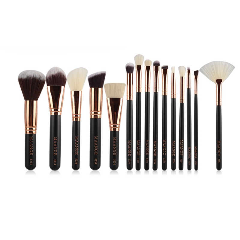 8/15 Pcs Professional Makeup Brushes Set Power Foundation EyeShadow Blush Blending Make Up Beauty Cosmetic Tools Kits Hot 15 pcs professional makeup brushes set power foundation eyeshadow blush blending make up beauty cosmetic tools kits hot